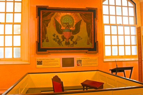 Washington's Bank, St. Paul's Chapel, Nueva York