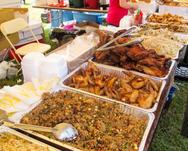 Asian cuisine, NY Dragon Boat Festival