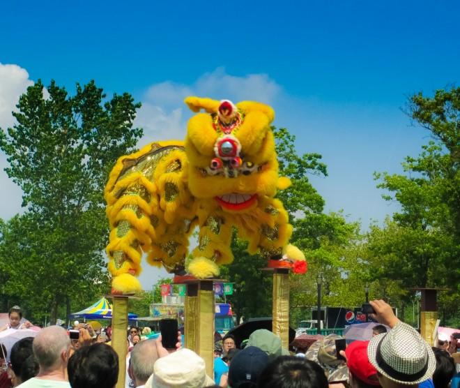 Lion Dance, Dragon Boat Fest, NYC