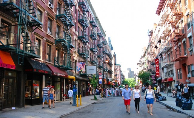 Orchard Street, Lower East Side, NYC