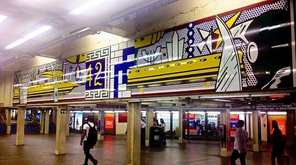 Roy Lichtenstein, Times Square