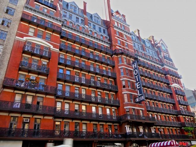 Hotel Chelsea, NYC