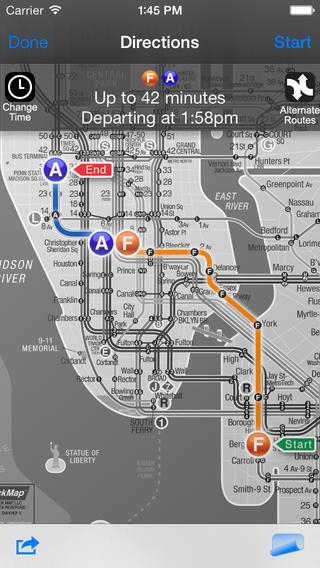 Basic Nyc Subway Map App.Best Apps For Nyc Navigation And Transit Walks Of New York