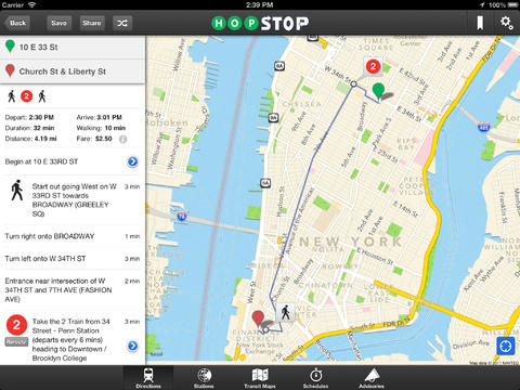 Best Apps for NYC: Navigation and Transit - Walks of New York