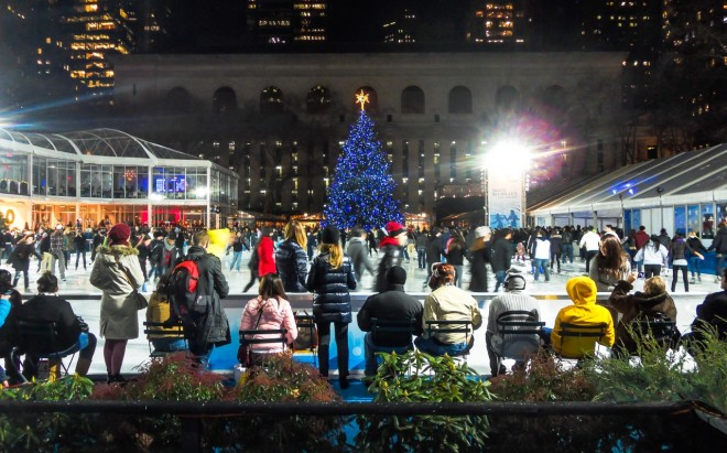 Bryant Park Winter Village Rink