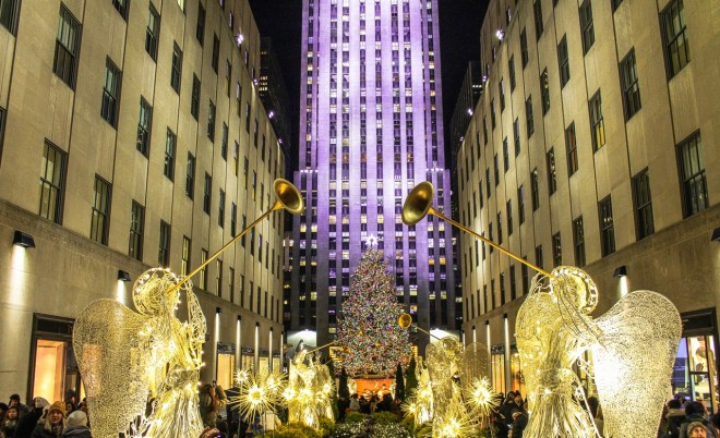 Rockefeller Center, Christmas