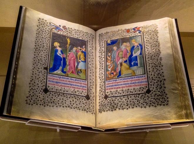 Illuminated Book, Cloisters, NYC