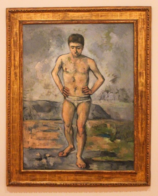 Cezanne: The Bather, MoMa