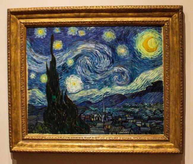 Van Gogh, Starry Night, MoMa