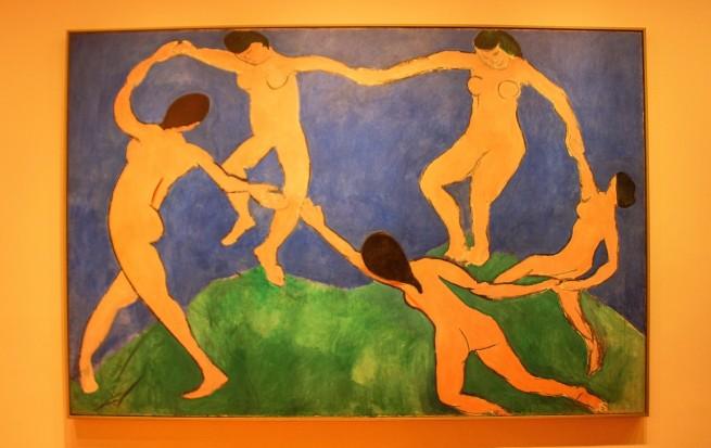 """Matisse """"Bailar (yo),"""" MoMa"""