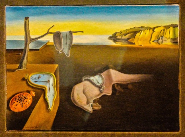 Dali: persistencia de la memoria, MoMa