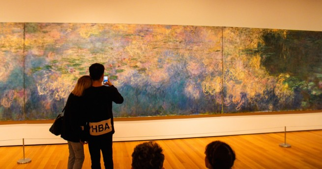 "Monet's ""Water Lillies,"" MoMa"