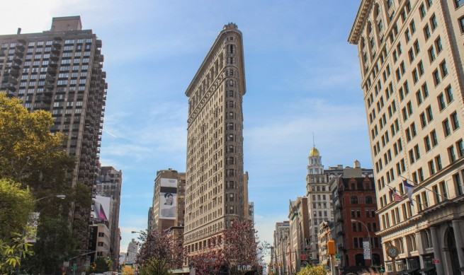 the flatiron building a new york icon. Black Bedroom Furniture Sets. Home Design Ideas