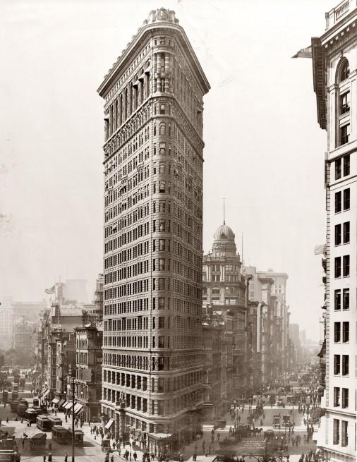 Flatiron Building vintage