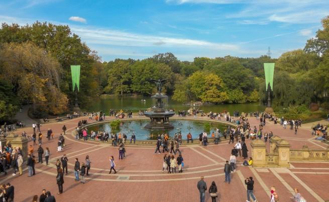 Terraza y fuente Bethesda, Central Park
