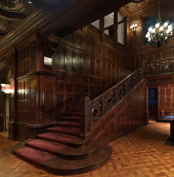 Staircase Cooper Hewitt Museum