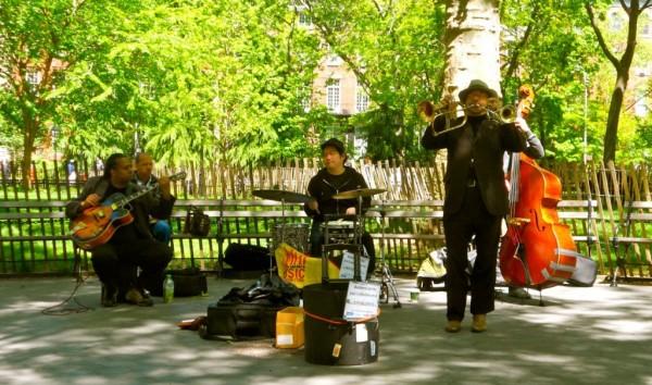 west village stroll - a jazz quartet