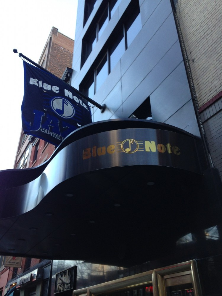 The entrance to the legendary Blue Note Jazz Club.| Photo by Kelleigh Welch