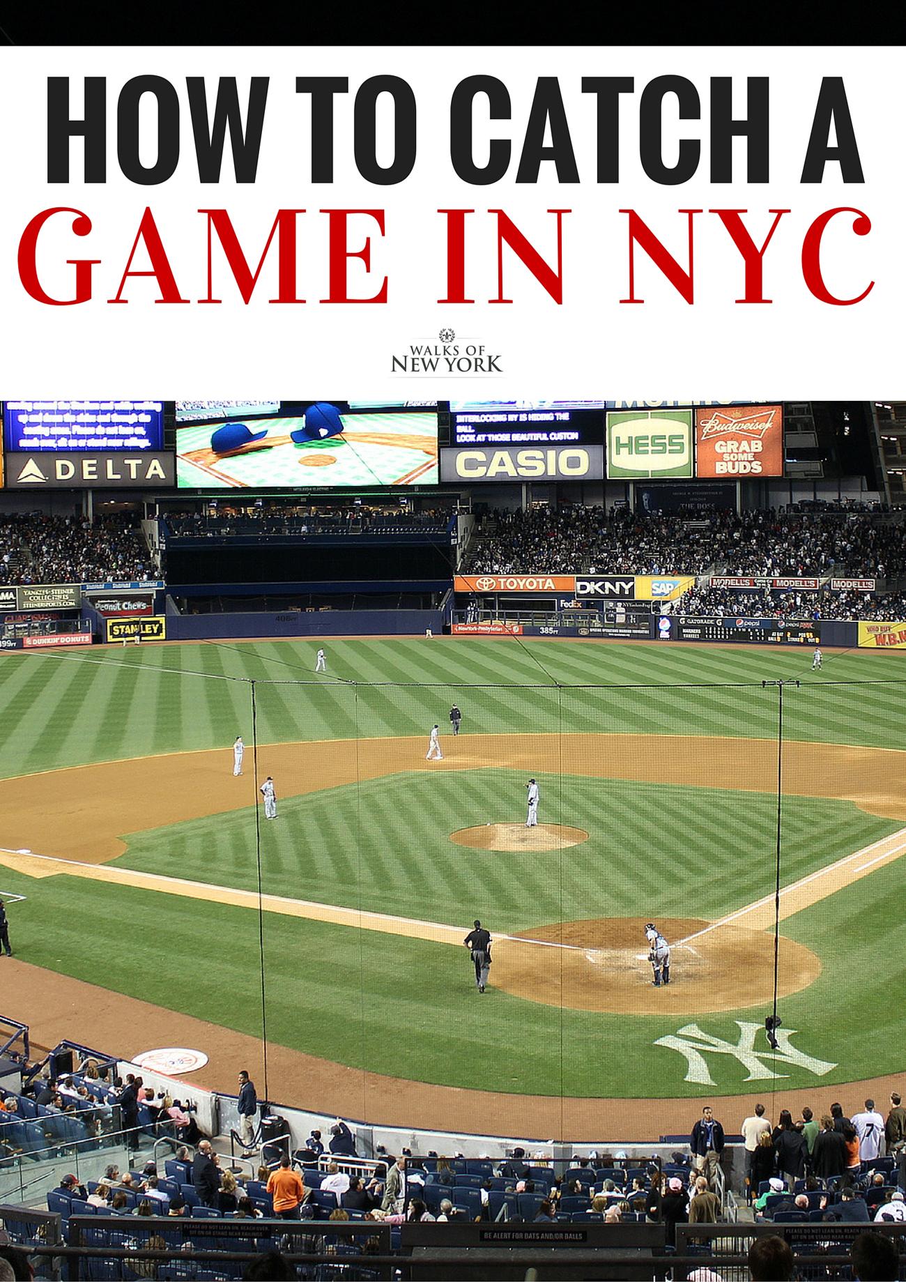 Sporting events in NYC are one of the city's biggest draws. Find out how to catch a game in the Walks of New York blog. | photo by Shinya Suzuki https://www.flickr.com/photos/shinyasuzuki/7179883540/in/photolist-bWsMew-a37Hos-7jRvCw-59cNE6-p34juz-8rWRRb-a34PnD-bWsFZL-bWsJL1-bWsFVy-bWsHXb-bWsJQA-bWsFB1-bWsMhC-bWsHNs-bWsGgm-bWsFKS-a37EEE-e7XNGN-bWsKoh-5mgein-a34RdB-enDDBd-bWsFQY-enFo4Y-5eSHnZ-5mgetT-4Fexjz-a37ErY-59h1ny-87P99x-bWsGDA-bWsLQm-bWsGbC-a34QLM-bWsJvs-bWsJyC-a34UDx-bWsJCL-7jRwxY-5LhThw-eE7QQr-bWsFuU-bWsKhd-a37DYC-bWsLVw-bWsM4W-bWsLZh-bWsLL9-bWsKdf