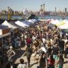 Smorgasburg is the premier weekly food market in NYC.