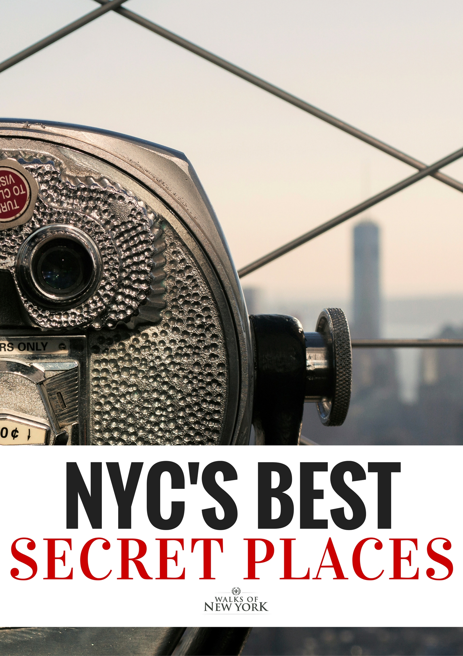 Secret places are hiding all over NYC. Read the entire list of the best secret places in NYC on the Walks of Italy blog.