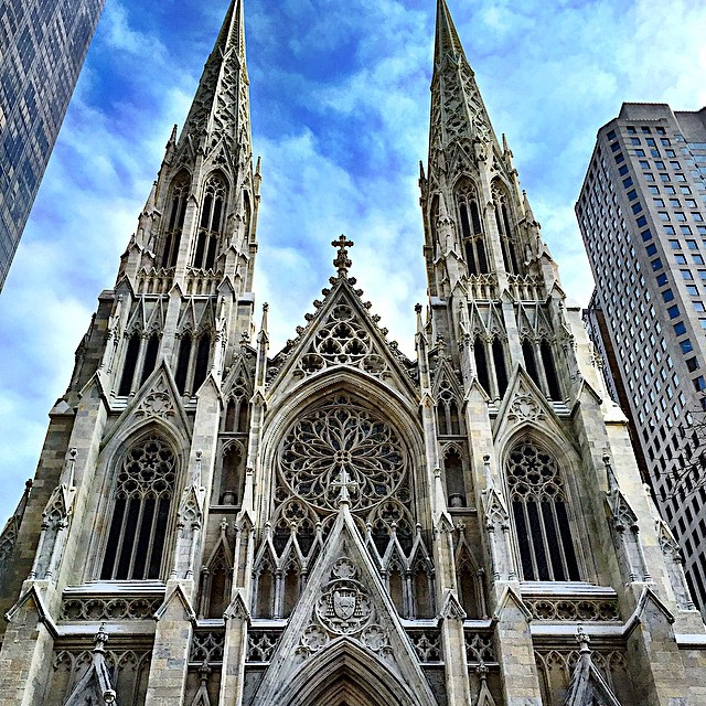 Have you seen St, Patrick's lately? It's marble facade gleams as brightly as when unveiled in 1879. Who's going to the Easter Parade Sunday?